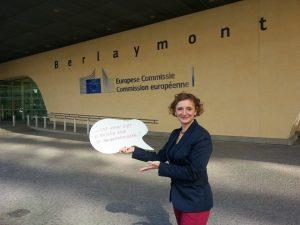 Wahlkampf in Brüssel